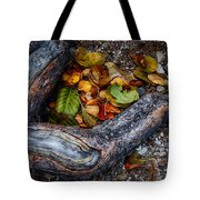 Leaves And Root Tote Bag