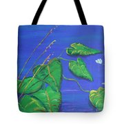 Leaves In The Wind Tote Bag