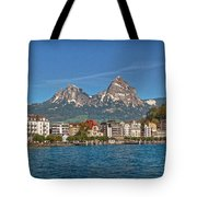 Leaving Brunnen Tote Bag