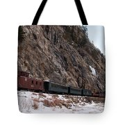 Leaving Cascade Canyon Tote Bag