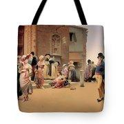 Leaving Church Tote Bag