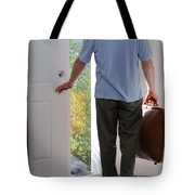 Leaving Home Tote Bag