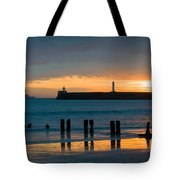 Leaving Port Tote Bag