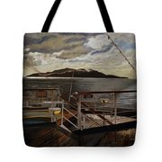 Leaving Queen Charlotte Sound Tote Bag