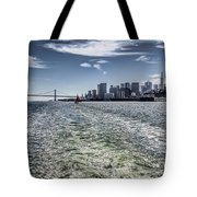 Leaving San Francisco Tote Bag