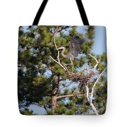 Leaving The Nest Tote Bag