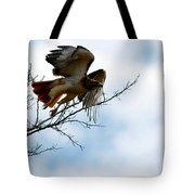 Leaving The Perch Tote Bag