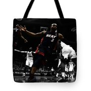 Lebron And D Wade Showtime Tote Bag