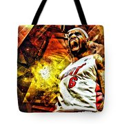 Lebron James Art Poster Tote Bag
