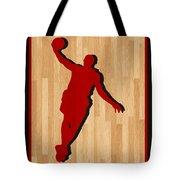 Lebron James Miami Heat Tote Bag