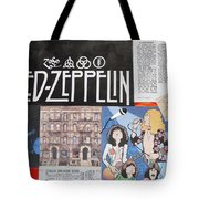 Led Zeppelin Past Times Tote Bag