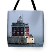 Ledge Light - Connecticut's House In The River  Tote Bag