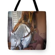 Lee Marvin Cat Ballou Homage 1965 Mural  Kid Chillean's Black Canyon Arizona  2005 Tote Bag
