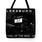 Leesburg Bikefest 2013 Poster Work One Tote Bag