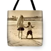 Left Foot Right Foot Tote Bag