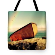 Left High And Dry Tote Bag