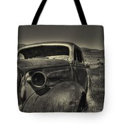 Left In The Hills Tote Bag
