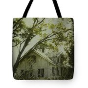 Left In The Trees Tote Bag