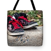 Left On The Curb Tote Bag