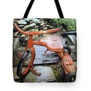 Left Out In The Rain Tote Bag