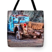 Left Over Hay Tote Bag