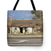 Left Turn Tote Bag