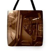 Left Turn Tote Bag