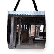 Leftover Pulpit Illinois Bend Methodist Church Tote Bag