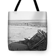 Leftovers From Hurricane Sandy Tote Bag