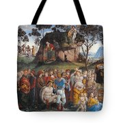 Legacy And Death Of Moses Tote Bag