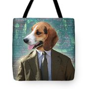 Legal Beagle Tote Bag by Nikki Smith