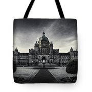 Legislature Building British Columbia Victoria Tote Bag