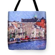 Leiden Canal Tote Bag