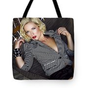 Leisure Class Palm Springs Tote Bag