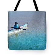 Leisure On The Lake Tote Bag