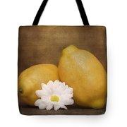 Lemon Fresh Still Life Tote Bag