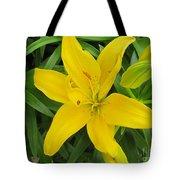 Lemon Lily Tote Bag