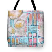 Lemon Rocks Paperclips And Water Trails Tote Bag