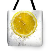 Lemon Splash Tote Bag