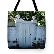 Lemon Tree Gate Tote Bag