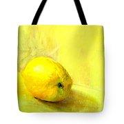 Lemon Yellow Tote Bag
