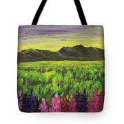 Lemon Yellow Sunset Tote Bag