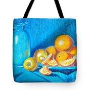 Lemons And Oranges Tote Bag