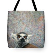 Lemur Tote Bag by James W Johnson