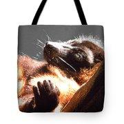 Lemur Lounging Tote Bag