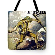 Lend The Way They Fight, 1918 Tote Bag