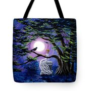 Lenore By A Cypress Tree Tote Bag