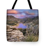 Lenticular Clouds At Canales Lake Tote Bag