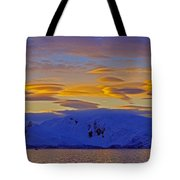 Lenticular Clouds Tote Bag