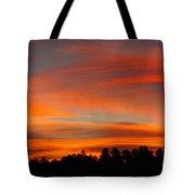 Lenticular Sunrise Tote Bag